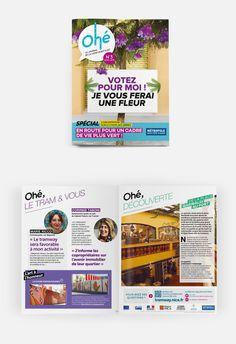 L'édition n°3 (avril 2015) de Ohé, le magazine des Niçois sur les travaux de la ligne 2 du Tram. #OPS2