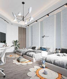 Hotel Room Design, Room Design Bedroom, Room Ideas Bedroom, Bedroom Decor, Luxury Kids Bedroom, Luxury Homes Dream Houses, Luxury Homes Interior, Interior Design, Dream Home Design