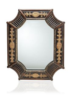 Orion Mirror, French Brown/Antique Bronze at MYHABIT