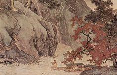ArtArte Tang Yin (1470-1523) A Fisher in Autumn, 1523. Em Imagem Semanal: Outono http://arteseanp.blogspot.com