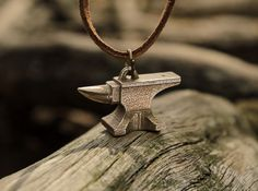 Check out Anvil Pendant by solostudioworks on Shapeways and discover more 3D printed products in Necklaces.