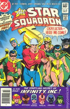 ALL STAR SQUADRON 26, DC COMICS