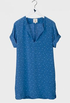The VINTAGE Tunic - MID LENGTH DRESS - Star Print Silk - MiH