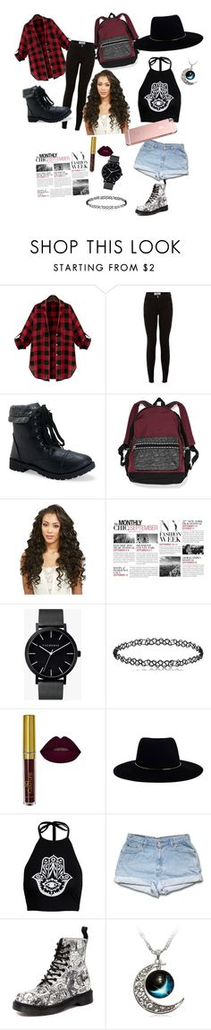 """""""fashion week"""" by lyricwhite03 ❤ liked on Polyvore featuring Aéropostale, Victoria's Secret, BCBGMAXAZRIA, The Horse, Zimmermann, Boohoo and Dr. Martens"""