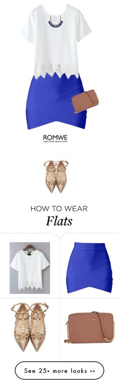 """""""romwe"""" by mako87 on Polyvore featuring Valentino, Michael Kors and Roni Kantor"""