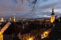 #Tallinn blue hour | Estland