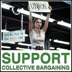 Support collective bargaining. Support unions by buying union - visit labor411.org