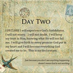 """Day #2 """"I Declare; 31 Promises to Speak Over Your Life"""" by Joel Osteen"""