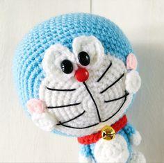 Free amigurumi pattern: Doraemon