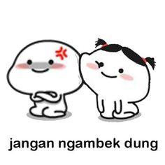Cute Cartoon Images, Cute Cartoon Wallpapers, Cartoon Pics, Memes Funny Faces, Funny Kpop Memes, Stupid Memes, Cute Love Pictures, Cute Love Memes, Instagram Cartoon