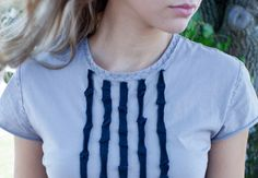 Random Ruffle T-Shirt by Alabama Chanin on Creativebug @Alabama Chanin @Creativebug on Pinterest