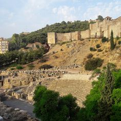 Discover the amazing history and heritage of Malaga! 💙 Enjoy the view of our Roman Theatre nestling at the foot of the hill with the walls of La Alcazaba rising above it! 😘   Save time and book your favourite tours easily on 👉www.malagatrips.com👈  #Malaga #Malagatrips #Malagatours #visitmalaga #holidayvibes #holidays #vacation #inspiration #traveltrip #history #travel #wanderlust #costadelsol #andalucia #españa #august #romantheatre #alcazaba #heritage #culture #andalusiatrip