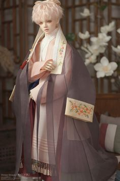 Is Porcelain China Info: 2359867530 Pretty Dolls, Cute Dolls, Beautiful Dolls, Korean Traditional Dress, Traditional Outfits, Ooak Dolls, Blythe Dolls, Human Doll, Templer