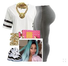 """""""✨"""" by newtrillvibes ❤ liked on Polyvore featuring Retrò, women's clothing, women, female, woman, misses and juniors"""