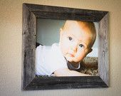 Barnwood Picture Frame (16 X 20) Made With Reclaimed Wood