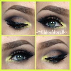Chloe Morello's Pop of Yellow.
