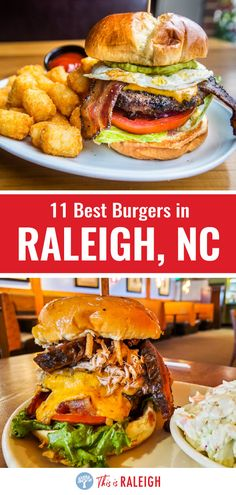 Looking for the best burgers in Raleigh NC? We've done the research for you and taste tested our way around our home city. Check out this list of 11 great Raleigh restaurants serving up tasty burgers! #Raleigh #NorthCarolina #NC #burgers #foodie
