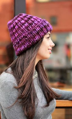 Knitted hat - A Stylish Element Of The Wardrobe İn The Cold Season New 2019 - Page 44 of 50 - apronbasket . Knitting Patterns Free, Free Pattern, Knitted Hats, Crochet Hats, Hats For Women, Winter Hats, Beanie, Stylish, Fashion