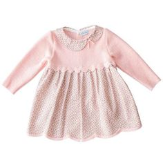 Mebi - Baby Girls Pink Knitted Dress and Cardigan - Sweet Peas Kidswear - 2