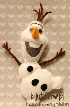 frozen - olaf--I have to make this for Emily for Christmas. Maybe Elsa and Anna unpaper dolls too? Hmm--I will have to look for a Sven doll too.