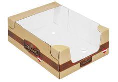 Flache Regalsteige zur Präsentation im Kühlregal in twin secure®-Technologie. Angepasst an den Aufrichter beim Kunden und stabil beim Stapeln. • #Dinkhauser #regalverpackung #twinsecure #offset #packaging #wellpappe #karton #nachhaltig #verkaufsverpackung #verpackungsdesign #lebensmittelverpackung Wooden Toys, Twins, Packaging, Stabil, Fish, Technology, Food Packaging, Packaging Design, Paper Board