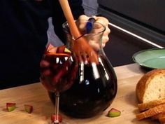 Bobby Flay Red Wine Sangria Recipe