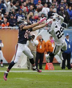 Nike NFL Youth Jerseys - Bears wide receiver Alshon Jeffery keeps the ball from Lions ...
