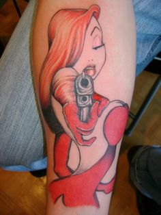 Would never get it... But I love me some Jessica Rabbit.