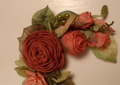 Nutmeg and Copper Rose Thanksgiving by lambsandivydesigns on Etsy