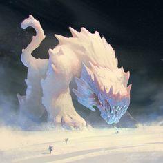 ice ice tiger +WIP, Arseniy Popov on ArtStation at https://www.artstation.com/artwork/ice-ice-tiger-wip
