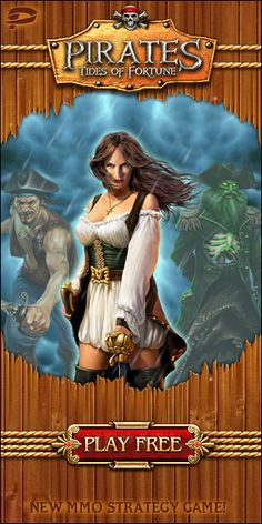 Set sail for riches and plunder as you battles your way from half-drowned prisoner to legendary scourge of the Seven Seas in Pirates: Tides of Fortune! This popular MMO game allows players to build their own pirate kingdom, battle with other Pirate players and ultimately dominate the whole high seas.