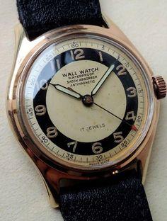 fbe51f59dbf Wall Watch - Men - 1901-1949. Wall WatchVintage WatchesWatches ...