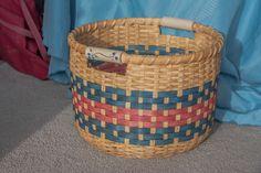 Field Basket - pattern by Mary Skillings