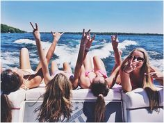 be cute if they were all laying on their back holding peace signs or feet up and crossed!