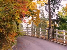Fort Langley is especially beautiful in the fall.