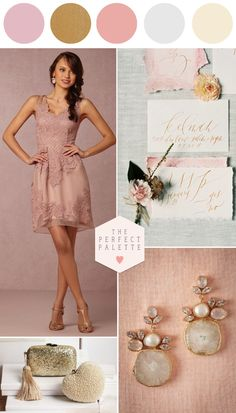 Shop the Look! Wedding Day Pretties with BHLDN - www.theperfectpalette.com - Find Your Wedding Day Style!