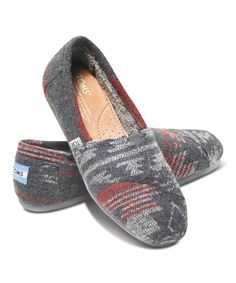 Look what I found on #zulily! Gray Jacquard Classics by TOMS #zulilyfinds
