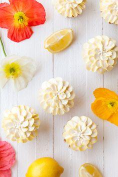 Sweet Iced Tea Lemon Cupcakes