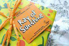 lush ray of sunshine gift set #lush #lushltd #lushgift