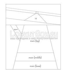 Схема для выкройки Чайника