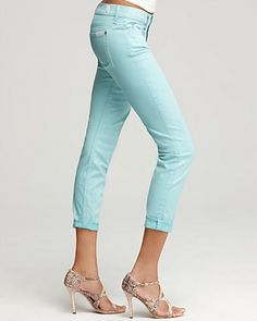 7 for all mankind crop jean