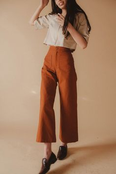 Sandy Pant in Canvas