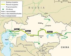 Washington is Playing a Deeper Game with China | The Atasu-Alashankou pipeline to be completed in 2009 will provide transportation of transit gas to China via Xinjiang. As well Chinese energy companies are involved in construction of a Zhanazholskiy gas processing plant, Pavlodar electrolyze plant and Moynakskaya hydro electric station in Kazakhstan.