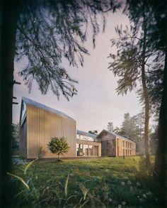 Дом в лесу - Галерея 3ddd.ru