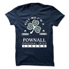 Nice POWNALL T shirt - TEAM POWNALL, LIFETIME MEMBER