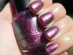 OPI Pluto Plum (discontinued)