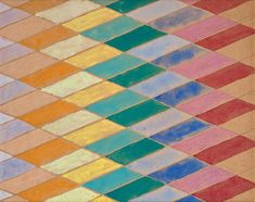 I find this very soothing. MoMA | Inventing Abstraction | Giacomo Balla | Study for Compenetrazione iridescente (Iridescent interpenetration). 1912