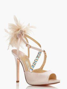 6bed72125349 Kate Spade heels ✿⊱╮ Designer Wedding Shoes