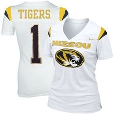 Mizzou tigers football jersey