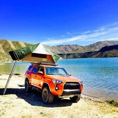 I love the simplicity of this #toyota #4Runner setup. Repost and Credit to @cjpennin for this image. Check his feed for more #overland content.